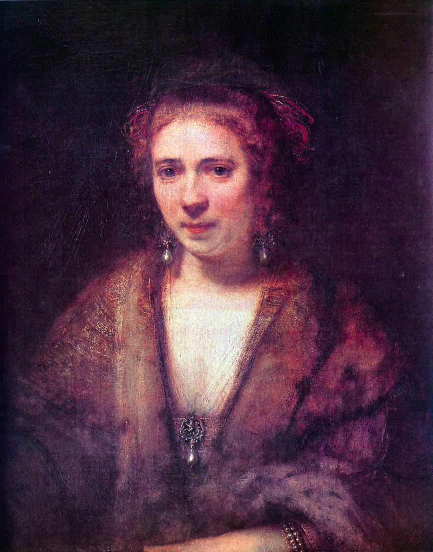 Portrait of Hendrickje Stoffels [2] - Rembrandt